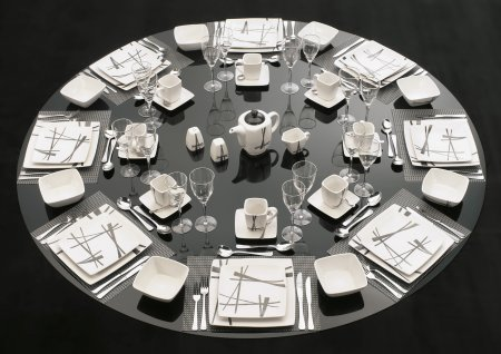 489 Karibo table setting